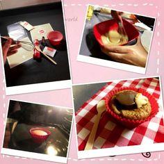 Receta Cupcake con Yolanda sin huevo
