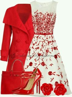 Not usually a fan of red... but this is cute.