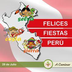 """Orgullosos de ser peruanos y poder ser de gran ayuda en nuestra comunidad. ¡Felices fiestas patrias! """"A caminar"""", reciclamos para ayudar ❤"""
