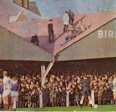 Tranmere Rovers vs Huddersfield Town, Prenton Park in 1968.
