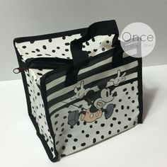 DISNEY MICKEY MOUSE Mini Shopper Lunch Bag Shopping Tote Bag from Primark #Primark #CanvasToteShopper