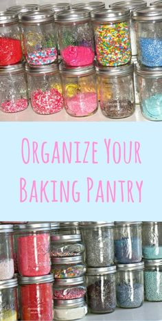 An easy way to organize your sprinkles!