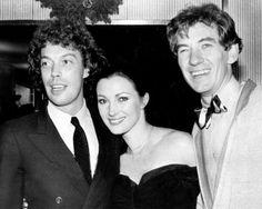 Tim, Sir Ian McKellan, and Jane Seymour