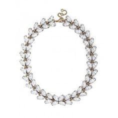 Crystal Garland Strand Necklace | BaubleBar