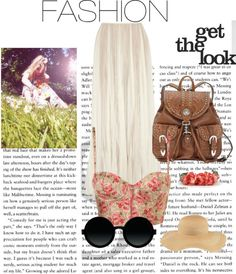 """""""Hippie outfit"""" by leaskor ❤ liked on Polyvore"""
