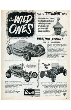 vintage and new HOT ROD items at stores.ebay.com/rockabillyhoodlum #hotrod #dragrace #classiccar #rockabilly #vintagehotrod #ratrod #hotrodart #kustomkulture #edroth #bigdaddyroth
