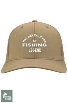 7706328c20393 The Man The Myth The Fishing Legend Cap