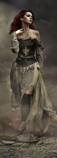 #steampunk #fashion ✿ Rayvin Nyte ✿ Enchanting & Enhancing Your Life!  www.MagicallyManifestMoney.com