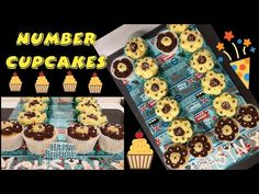 How to Make a Simple Number Cupcakes/Cake Using 1M Nozzle Tip Number 11 - YouTube 11th Birthday, Birthday Parties, Birthday Cupcakes, Cake Creations, Cupcake Cakes, Numbers, The Creator, Party Ideas, Shapes