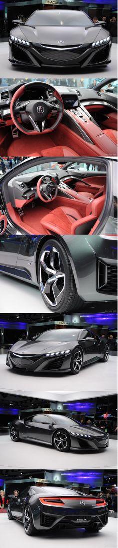 ...Acura NSX II concept -