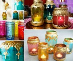 How To Make Beautiful Moroccan Jar Lanterns   The WHOot