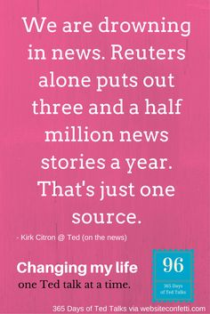Day 96: Are we reading the right news stories?