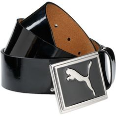 Puma Golf Enamel Belt - Black