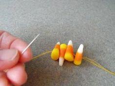 Susie Harris: Candy Corn Garland DIY
