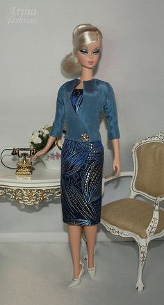 Arina Fashions | Real fashions for Silkstone Barbie and Fashion Royalty Dolls../ 35.16.6