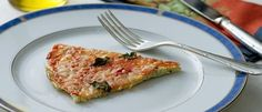 Pizza light de couve flor - Lucilia Diniz