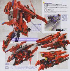 GUNDAM GUY: 1/144 Mega Shiki Amazing + Vrabe Amazing Lev A + D Parts - Customized Build [Updated 3/15/14]