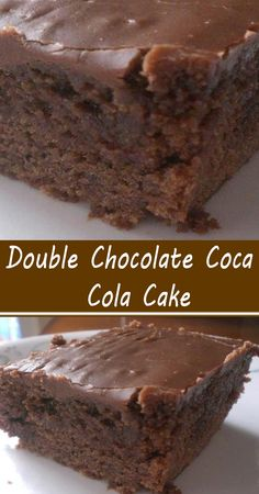Homemade Cake Recipes, Cake Mix Recipes, Dessert Recipes, Just Desserts, Baking Recipes, Cookie Recipes, Delicious Desserts, Chocolate Coca Cola Cake, Coke Cola Cake