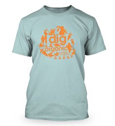 """I dig Organic"" Spring collection in blue, order yours here today https://fabrily.com/GOSpring."