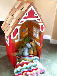 AMAZING Cardboard Playhouses Kids will Love!