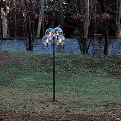 Garden Lamp Post / Traditional / Polycarbonate / Metal LYNDON 350 By Vico  Magistretti Oluce