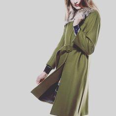 L'autreChose 🍂 www.salvagentemilano.it #autumn #newarrival #svgt #green #wool #coat