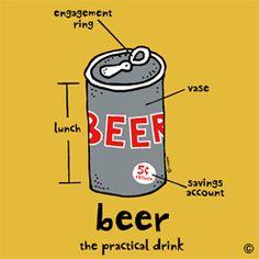 Beer - the practical drink