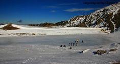Frozen lake at mt Smolikas, north Pindus, Greece Greece Travel, Trekking, Frozen, Greek, Hiking, Mountains, Water, Outdoor, Walks
