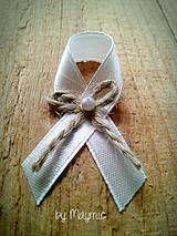 Svadba - svadobné pierko-natur - 4217479_