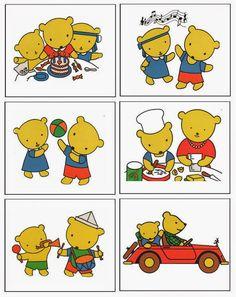 Pro Štípu: Medvedi silenstvi... Medan, Sequencing Pictures, Speech Therapy, Clipart, Diy For Kids, Montessori, Worksheets, Free Printables, Diy And Crafts