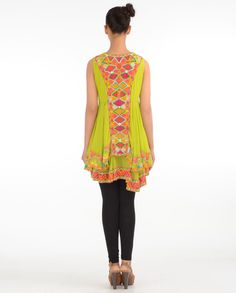 Embroidered Tunic Is Now At www.ladyselection.com