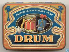 Blikken en trommels - Douwe Egberts - Originele halfzware shag Drum