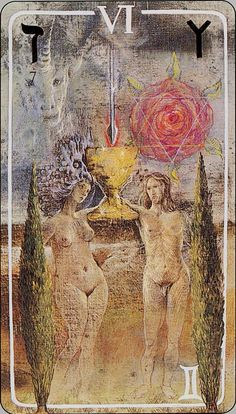 Haindl Tarot - The Lovers