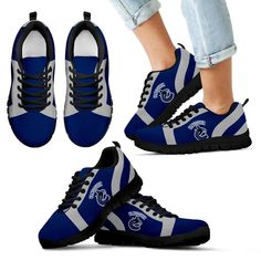 Line Inclined Classy Vancouver Canucks Sneakers – Best Funny Store