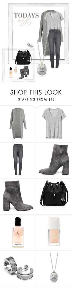 """""""Todays Outfit 031717"""" by kim-zandvoort ❤ liked on Polyvore featuring Polaroid, Acne Studios, Paige Denim, Steve Madden, MICHAEL Michael Kors, Armani Beauty, Christian Dior, Charriol, Bjørg and grey"""