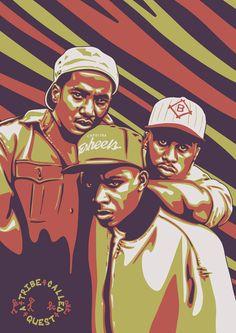 Hip Hop Classics, A Tribe Called Quest, Hip Hop World, Gangster Rap, 90s Hip Hop, Hip Hop Art, Music Artists, Rapper, Bands