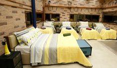 Um dos quartos do BBB16. Com direito a cama de casal...
