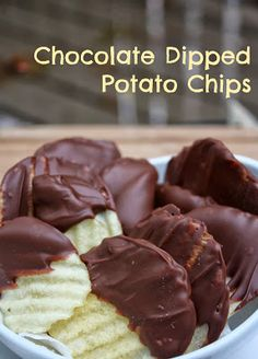 Fall Bake Sale: Chocolate Dipped Potato Chips by Year Round Giving on DIY Sunday Showcase ~ a VMG206 Honorable Mention