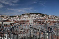 Lisboa, Miradouro do Elevador de Santa Justa    /foto de Carla Rosado