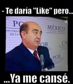 Te daría #Like pero.. #YaMeCansé #meme