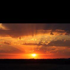 Oklahoma Sunset