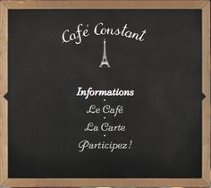 Café Constant à Paris, Île-de-France Adresse : 139 Rue Saint-Dominique, 75007 Paris Téléphone : 01 47 53 73 34
