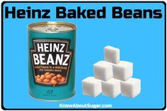 Heinz Baked Beans Sugar Content, How much sugar in Heinz Baked Beans Heinz Beanz, Heinz Baked Beans, How Much Sugar, Content, Baking, Food, Bakken, Essen, Meals