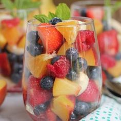 Mixed #fruit serve with some whipped cream or yoghurt and enjoy @befitfoods @kngluv kngluv.com