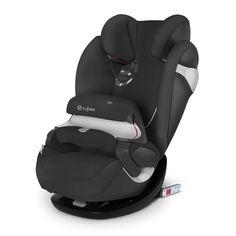 Le siège auto groupe 1/2/3 Pallas M-Fix Happy Black de Cybex est équipé de fixation isofix.. #