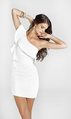 simple but elegant homecoming dresses, white homecoming dresses, Lovely homecoming dresses!