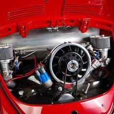 We love a great non stock engine now and then. Hey @oldVW lets race! - #LaneRussellVW #VintageVW #Volkswagen #aircooled #aircooledvw #german #vw #vws #vdub #vdubs #bug #beetle #thesamba #vwbus #vwallday #vwdaily #vwlife #vwlove