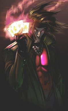 Gambit by Michael Turner  Auction your comics on http://www.comicbazaar.co.uk