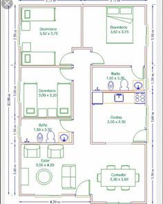 ❤ Aprenda definitivamente a Desenhar Projetos Arquitetônicos do início ao fim de um modo extremamente rápido e fácil. . 🧐 Capacite-se para… Tiny House Plans Free, Little House Plans, Square House Plans, Unique House Plans, Affordable House Plans, Small House Floor Plans, Best House Plans, Dream House Plans, Bungalow Floor Plans