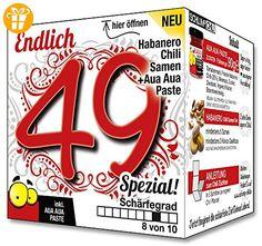 Endlich 49 SPEZIAL - Eine tolle Geschenkidee zum 49. Geburtstag - ein witziges und originelles Geschenk für scharfe Männer und Frauen - Shirts zum geburtstag (*Partner-Link)